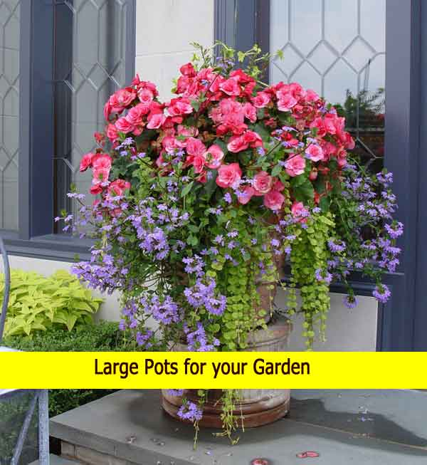 large garden pots cheap